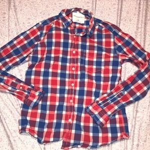 Men's Aeropostale Checkered Button Down